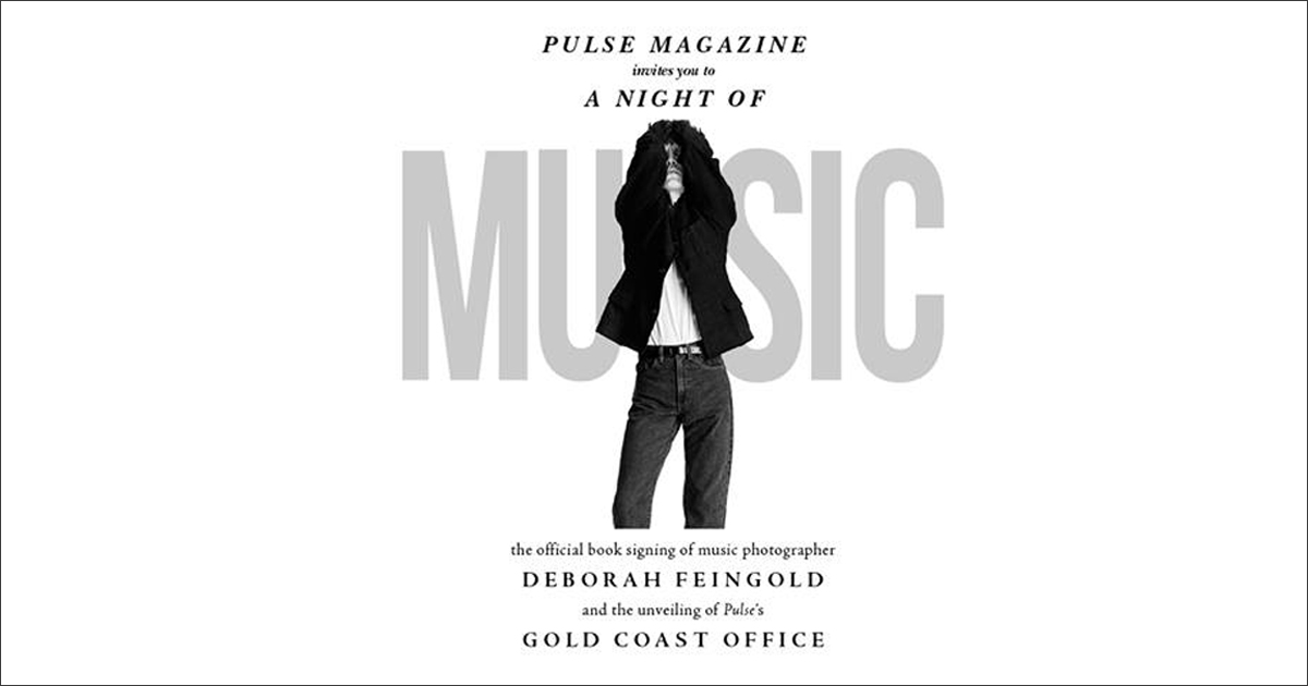 A Night of Music: Book Signing of Music Photographer Deborah Feingold