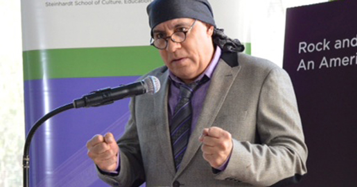LIMHoF and Steven Van Zandt's Rock and Roll Forever Foundation Give Talk at LICSS Conference