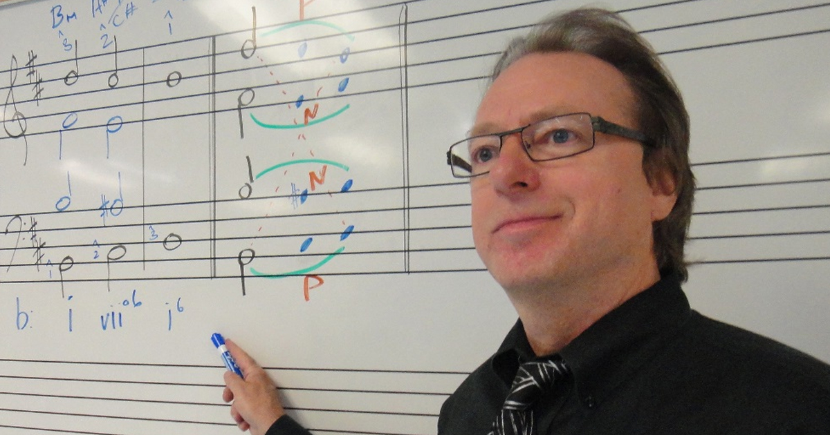 Music Educator of Note Frank Doyle featured in Northport Patch