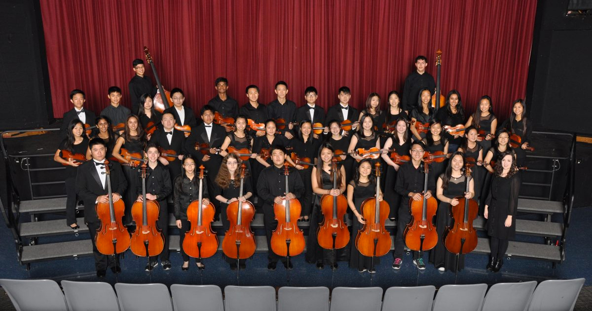 High School Music Department Recognition Program Concert