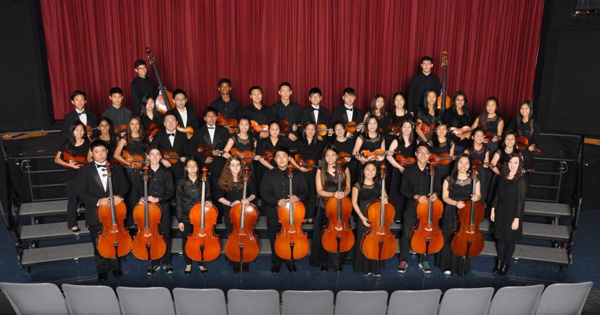 High School Music Department Recognition Program Concert