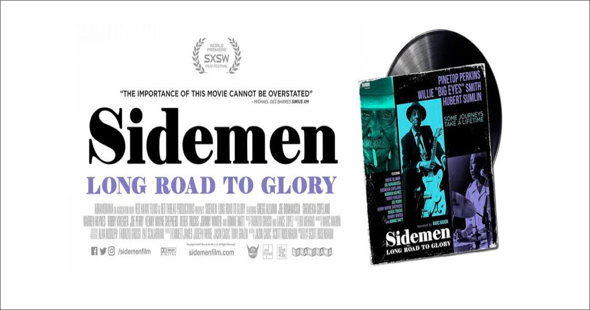 Long Island Music Hall of Fame Co-Sponsors Screening of Sidemen: Long Road to Glory on October 30 at Long Island Museum in Stony Brook