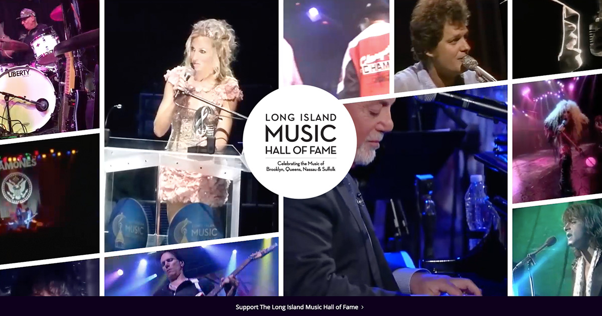 Long Island Music Hall of Fame launches website