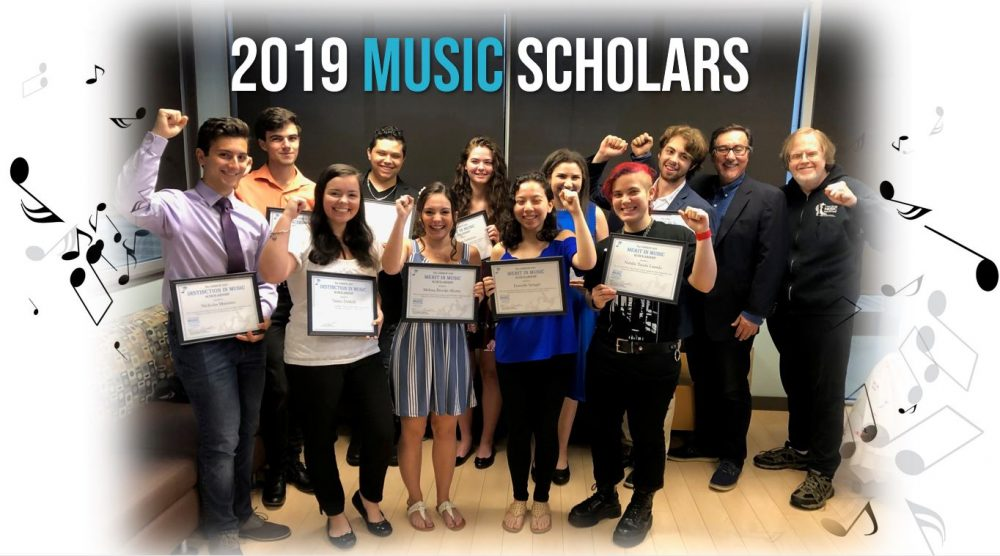 LIMHOF Celebrates its 2019 Music Scholarship Class