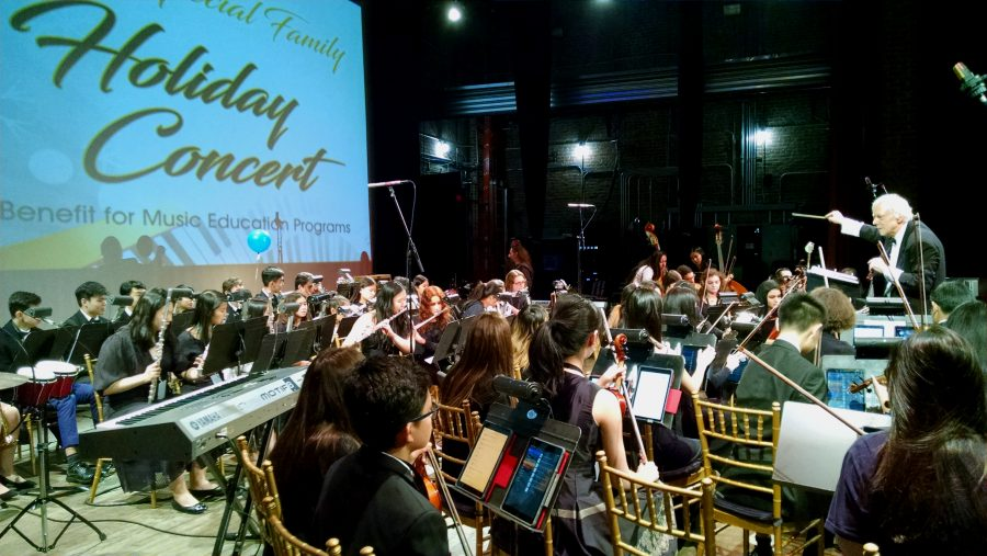 "Recognized High Schools And Friends of LIMHOF Bring Their ""A"" Game to the Long Island Music Hall of Fame's 2019 Holiday Benefit Concert"