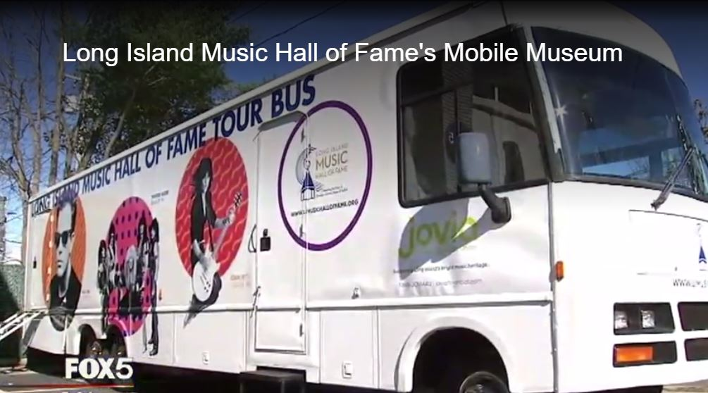 Long Island Music Hall of Fame's Mobile Museum