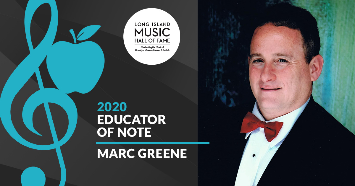 Marc Greene Named 2020 LIMHOF Educator of Note